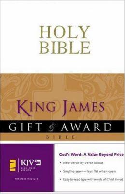Gift & Award Bible-KJV 9780310938842