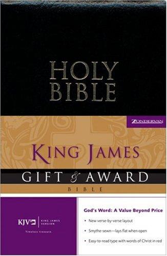 Gift & Award Bible-KJV 9780310941330