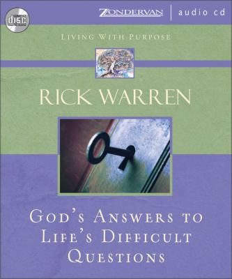 God's Answers to Life's Difficult Questions 9780310275510