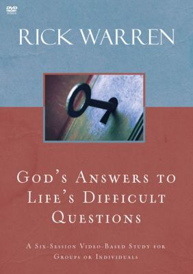 God's Answers to Life's Difficult Questions 9780310326892