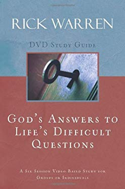 God's Answers to Life's Difficult Questions: A Six-Session Video-Based Study for Groups or Individuals 9780310326922
