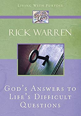 God's Answers to Life's Difficult Questions 9780310273936
