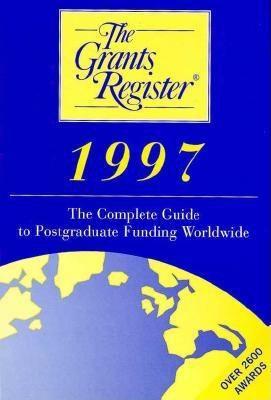 Grants Register, 1997 9780312158989