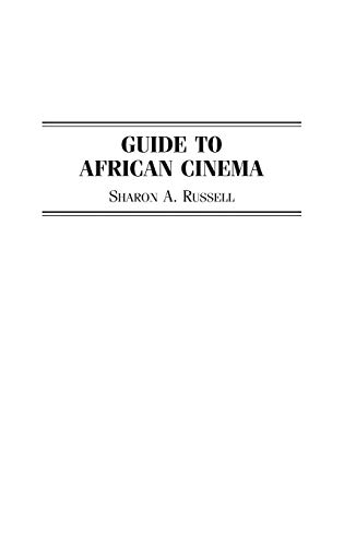 Guide to African Cinema 9780313296215