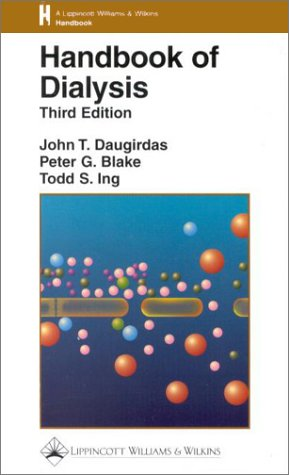 Handbook of Dialysis 9780316173810