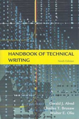 Handbook of Technical Writing 9780312575120