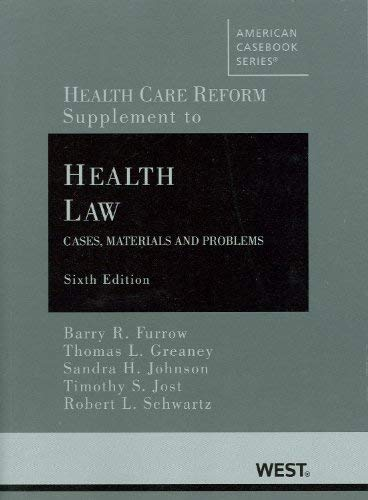 Health Care Reform: Supplementary Materials (2010)