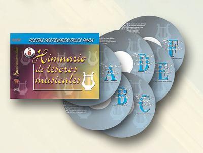 Himnario de Tesoros Musicales: Pistas Instrumentales Para 9780311483280