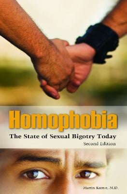 Homophobia: The State of Sexual Bigotry Today 9780313359255
