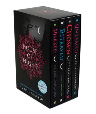House of Night Set: Marked, Betrayed, Chosen, Untamed [With Poster] 9780312372132