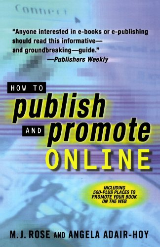 How to Publish and Promote Online 9780312271916