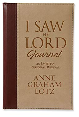 I Saw the Lord Journal: 40 Days to Personal Revival 9780310811541