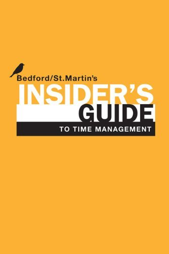Insider's Guide to Time Management 9780312614393