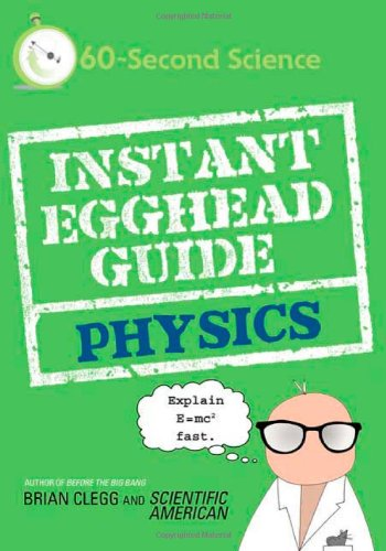 Instant Egghead Guide: Physics 9780312592103