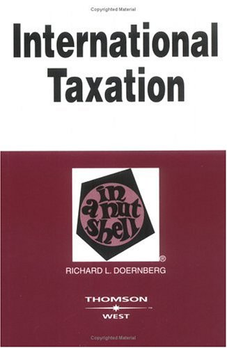 International Taxation in a Nutshell 9780314149060