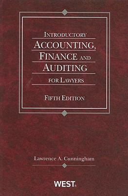 Introductory Accounting, Finance and Auditing for Lawyers 9780314912602