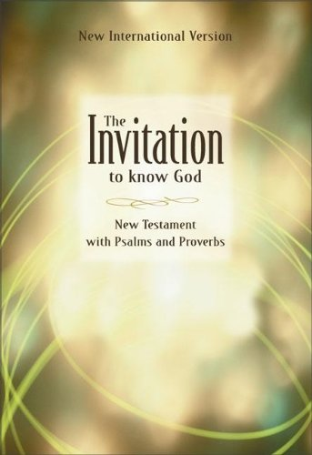 Invitation to Know God-NIV 9780310902027