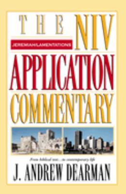 Jeremiah, Lamentations 9780310206163