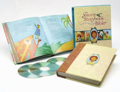 Jesus Storybook Bible Deluxe Edition [With CD (Audio)] 9780310718789