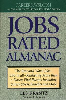 Jobs Rated Almanac 1999-2000 9780312183998