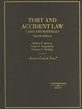Tort and Accident Law: Cases and Materials 9780314263797
