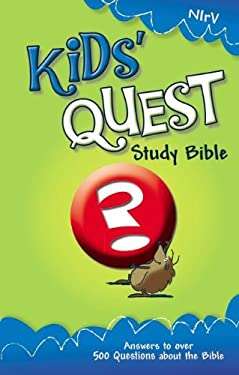 Kids' Quest Study Bible-NIRV: Real Questions, Real Answers
