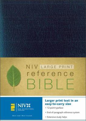 Large Print Reference Bible-NIV-Personal Size 9780310908005