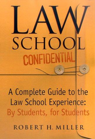 Law School Confidential 9780312243098