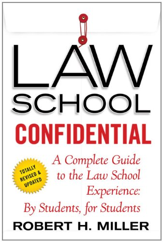 Law School Confidential 9780312605117