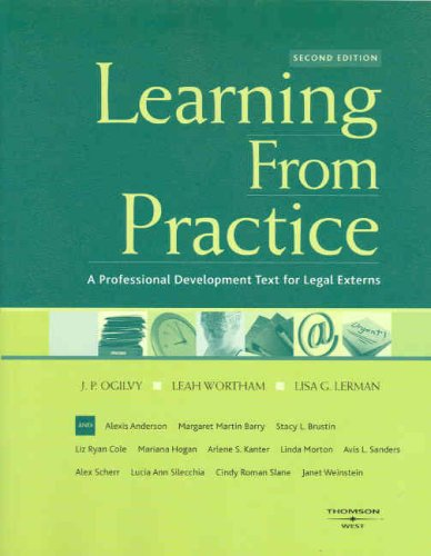 Learning from Practice: A Professional Development Text for Legal Externs 9780314152848