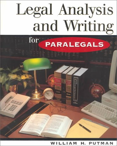 Legal Analysis and Writing for Paralegals 9780314128300