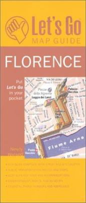 Let's Go Map Guide Florence (3rd Ed) 9780312285241