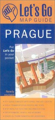 Let's Go Map Guide Prague (2nd Ed.) 9780312272470