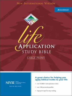 Life Application Study Bible-NIV-Large Print 9780310917588