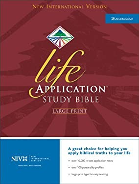 Life Application Study Bible-NIV-Large Print 9780310927136