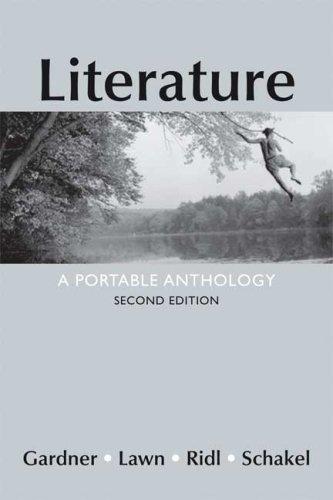 Literature: A Portable Anthology 9780312461867