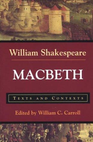 Macbeth: Texts and Contexts 9780312144548