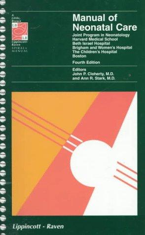 manual of neonatal care joint program in neonatology harvard rh betterworldbooks com manual of neonatal care pdf download manual of neonatal care 7th edition pdf free download