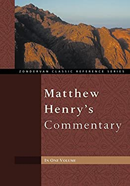 Matthew Henry's Commentary 9780310260103
