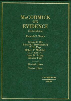 McCormick on Evidence 9780314161277