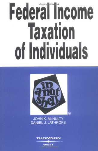 Federal Income Taxation of Individuals in a Nutshell 9780314152701