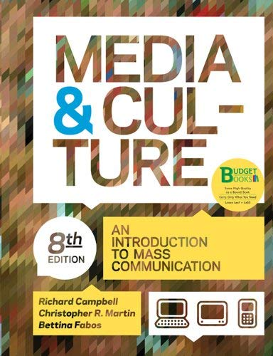 Media & Culture: An Introduction to Mass Communication 9780312542214