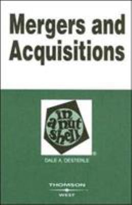 Mergers and Acquisitions in a Nutshell 9780314159564
