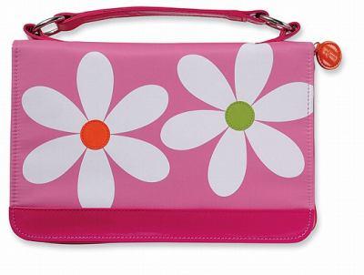 Microfiber Daisy Pink Zipper Pocket Med 9780310822257
