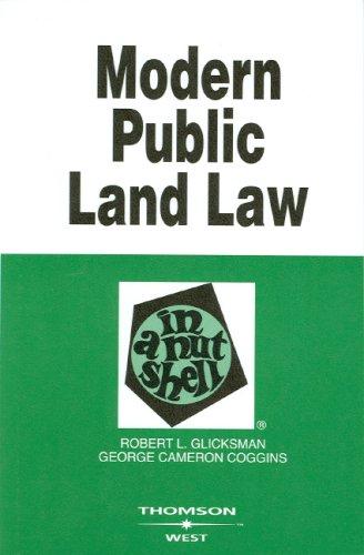 Modern Public Land Law in a Nutshell 9780314162854