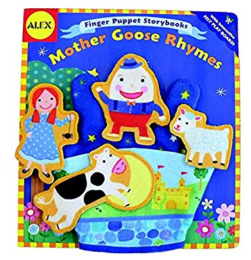 Mother Goose Rhymes [With Finger PuppetsWith Felt Play Board] 9780316065245