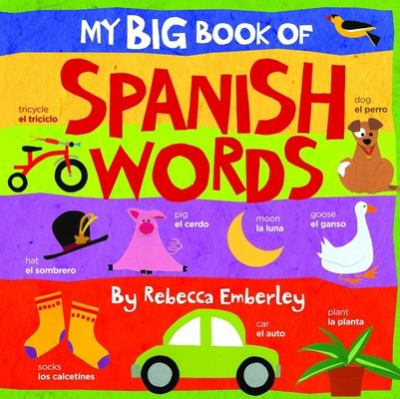 My Big Book of Spanish Words 9780316118033
