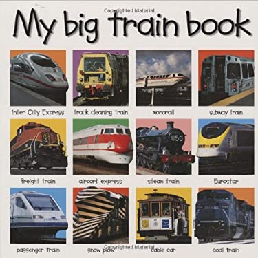 My Big Train Book 9780312491864