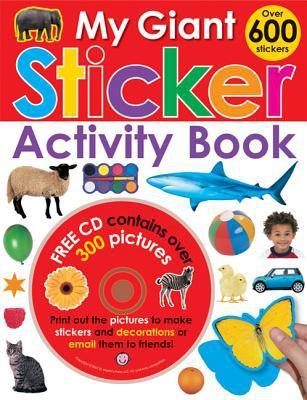 My Giant Sticker Activity Book [With CDROM and Over 600 Stickers]
