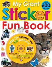 My Giant Sticker Fun Book [With CDROM] 942862